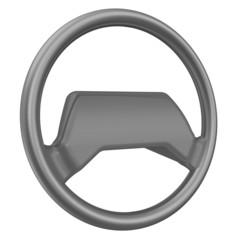 Рулевое колесо. Деталь автомобиля