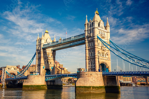 canvas print picture Tower bridge in London