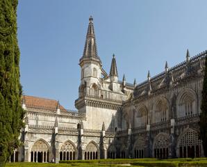 Courtyard of Batalha Monastery
