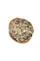 chocate cream filled doughnut