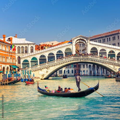 Rialto Bridge in Venice - 78106501