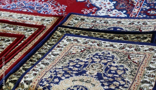 oriental carpets for sale in the shop of rugs - 78106773