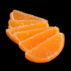 Marmalade as orange slice