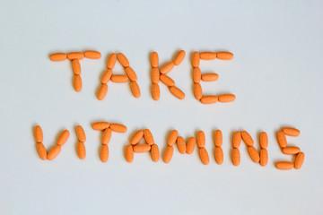 take vitamins
