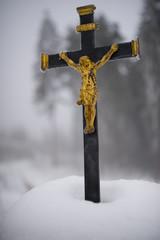 Eisiges Kreuz