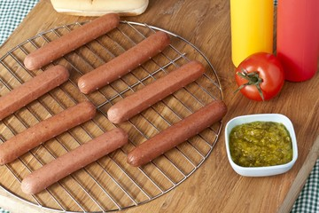 hot dog sandwich ingredients