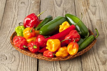 hot pepper collection