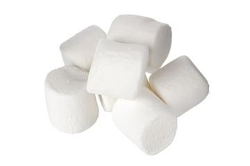 pile of white marshmallows