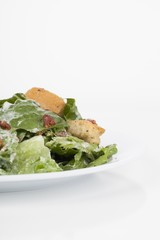 plate of caesar salad