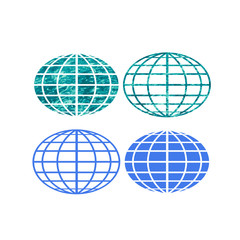 Globe symbols