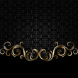 Black and golden background 2 - 78110990