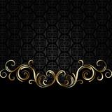 Black and golden background 2