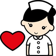 ハート・看護婦