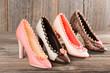 Highheel-Damenschuhe aus Schokolade - 78115140
