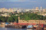 Port, fortress, city. Santo Domingo, Dominican republic