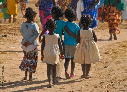 Tuinposter Baobab Jeune amitié