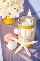 decoration of wedding setup