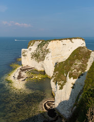 Jurassic Coast Dorset England UK chalk cliffs Old Harry Rocks