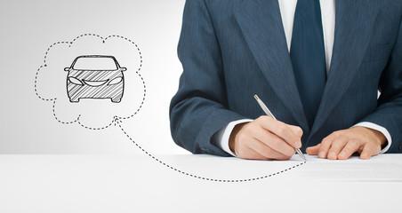 Sign car insurance
