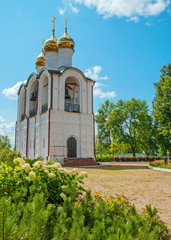 bell tower of St. Nicholas Monastery in Pereslavl Zalessky