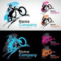 moto cross spectacle enduro voltige logo