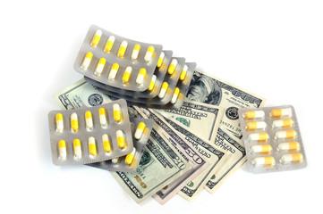 Таблетки и американские доллары