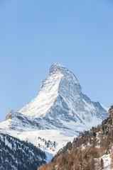 Zermatt, Bergdorf, Zmutt, Alpen, Wallis, Winter, Schweiz