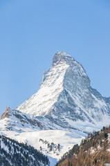Zermatt, Bergdorf, Alpen, Bergbahnen, Winter, Schweiz