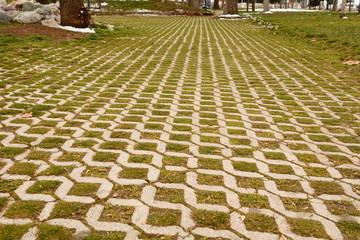 parke taşları ve simetri