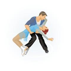 Pair skating