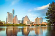 """Постер, картина, фотообои """"view of Austin, downtown skyline"""""""