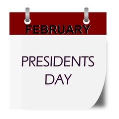President's Day calendar
