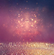 abstract blurred photo of bokeh light burst and textures. multic