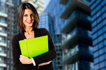 real estate female agent