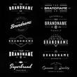 vintage logo & insignia 1 - 78121336