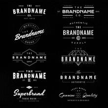 "Постер, картина, фотообои ""vintage logo & insignia 1"""