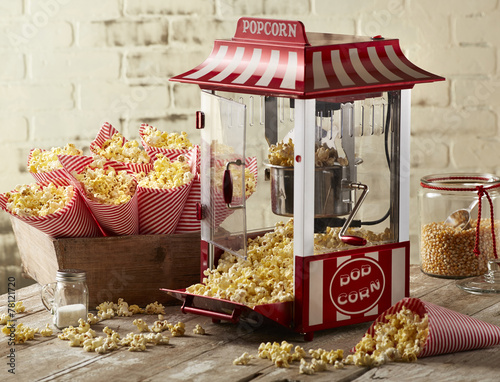 canvas print picture Popcorn
