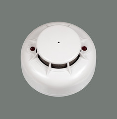 sensor fire alarm like a smiling emoticon