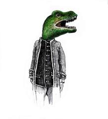dinosaur gentleman