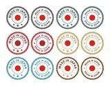 made in japan - badge sets