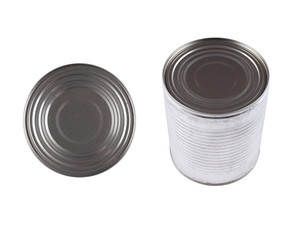 Mystery Can - Stock Image, from the top, side