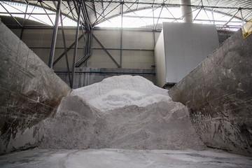 deposito materie prime in polvere