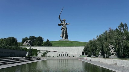Monument Motherland mother