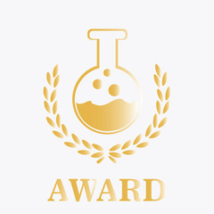 Gold Award for the chemistry background