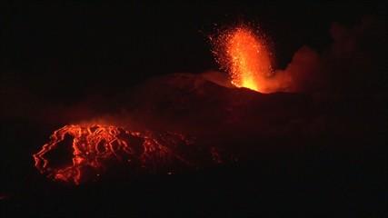 Volcano erupt (Etna 2/02/15)