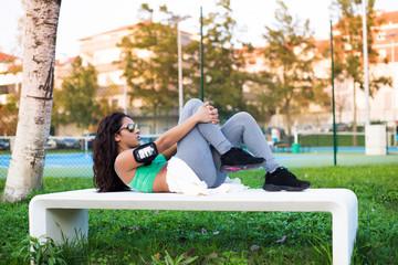 Fitness woman