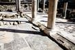 Roman ruins and mosaicsAgia Kyriaki church, Paphos,Cyprus