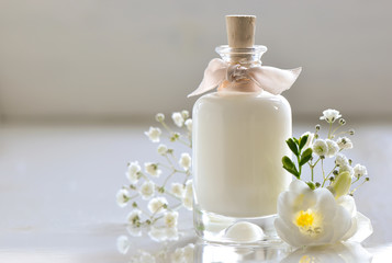 Body or face skin care lotion