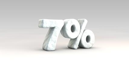 7% ice