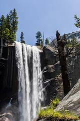 Vernal Falls in Summer, Yosemite National Park, Kalifornien, USA